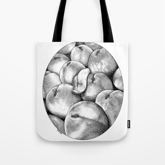 asc 628 - Les pêches de l'empereur (More juicy fruits) Tote Bag