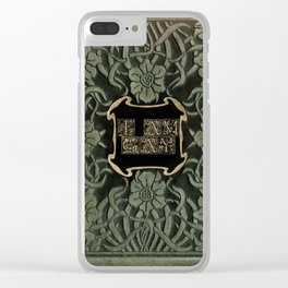 Dramatic Gay Clear iPhone Case