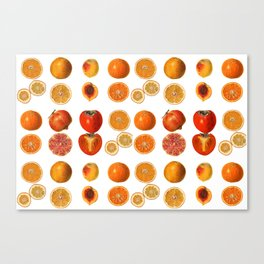 Fruit Attack Canvas Print