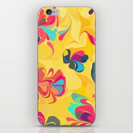 Flowers in the Wind 5 iPhone Skin