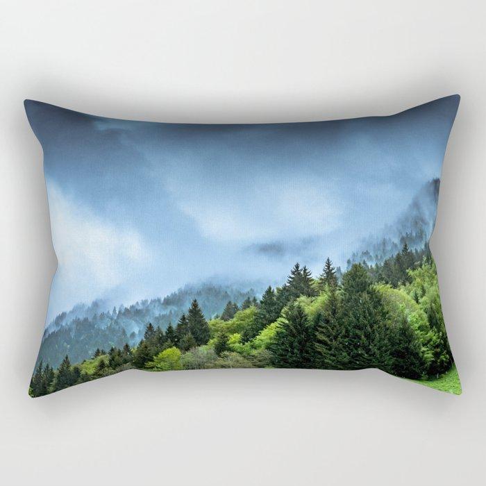 Landscape fog #society6 Rectangular Pillow