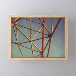 Nanchang Big Wheel Frame Framed Mini Art Print