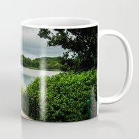 bridge Mugs featuring Bridge  by Ashley Hirst Photography