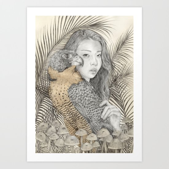 There Are Spies Among Us Art Print