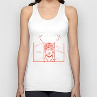 will graham Tank Tops featuring Save Will Graham by Meloniade