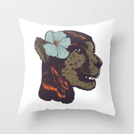 CONCHEETAH! Throw Pillow