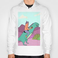 dino Hoodies featuring DiNo by MALKERM