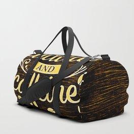 Cuddles And Caffeine 2 Duffle Bag