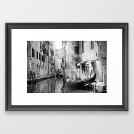 The Gondola Framed Art Print