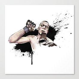 Nate Diaz FOX callout Canvas Print