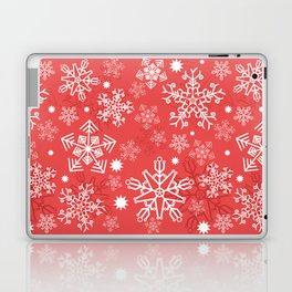 Christmas Snowflakes Laptop & iPad Skin
