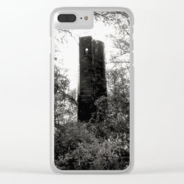 Forgotten Tower Clear iPhone Case