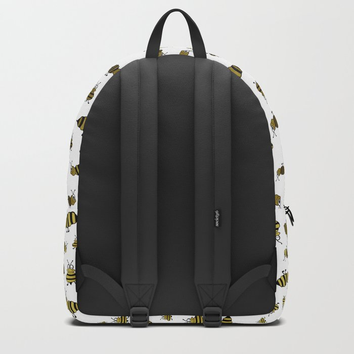 Golden Bees Backpack