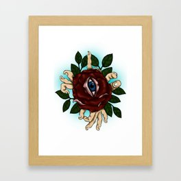 divine eye Framed Art Print