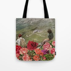 Life is a Bed of Roses Tote Bag