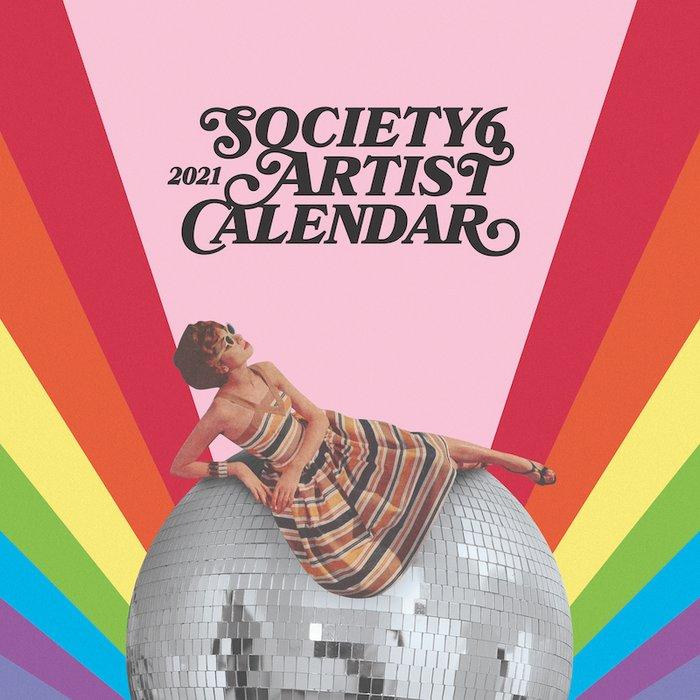 Society6 Artists 2021 Wall Calendar