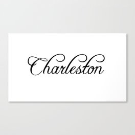 Charleston Canvas Print