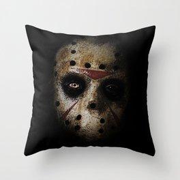 JASON!  Throw Pillow
