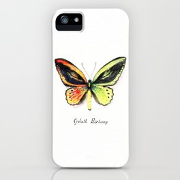 Butterfly: Ember iPhone Case
