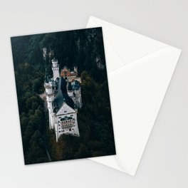 Architecture Neuschwanstein Castle Swangau Bavaria Germany. Fairytale look Stationery Cards