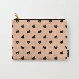 KITTY KITTY KITTY - salmon Carry-All Pouch