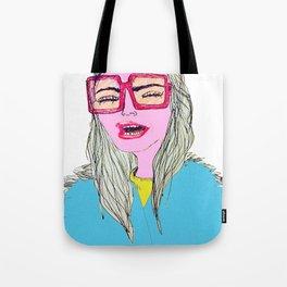 Happy, Vogue Model Tote Bag