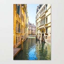 A Gondola Ride through Venice Canvas Print