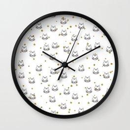 My Darling Kitty Wall Clock