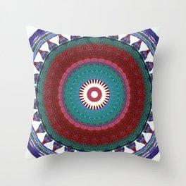 Internal Totem Throw Pillow