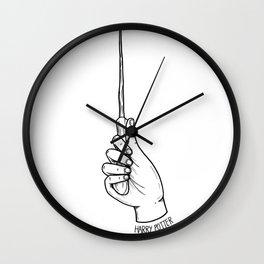 HP Wand Wall Clock