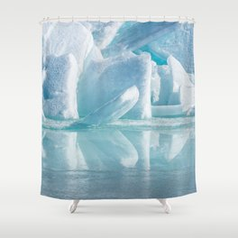 Snowy Kingdom Shower Curtain