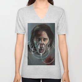 Scream Unisex V-Neck