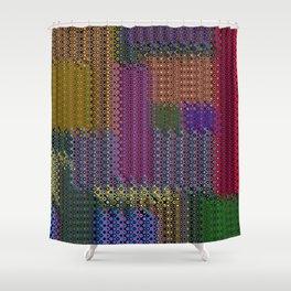 Patchwork Shower Curtains