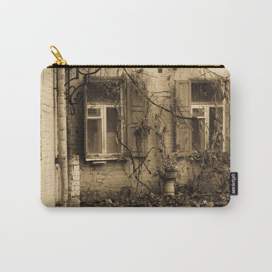 quiet courtyard Carry-All Pouch