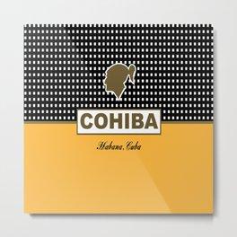 Cohiba Habana Cuba Cigar Metal Print
