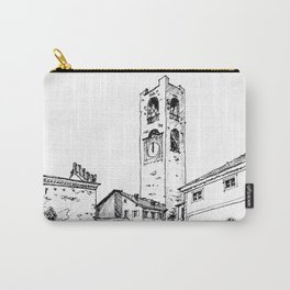 Old Square, Bergamo Carry-All Pouch