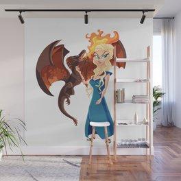 Queen D Wall Mural