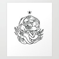 Give Me Your Hands Art Print