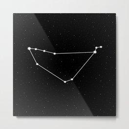 Capricorn Astrology Star Sign Metal Print