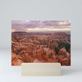 Sunset Point 6173 - Bryce_Canyon_National_Park, UT Mini Art Print