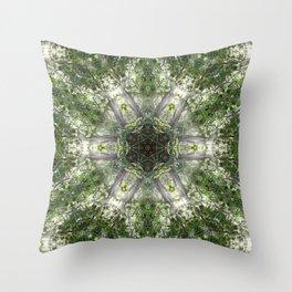 Kuil Cahaya Throw Pillow