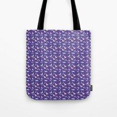 Unicorns and Rainbows - purple -tiny Tote Bag