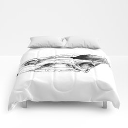 Snapping Turtle Skull Comforters