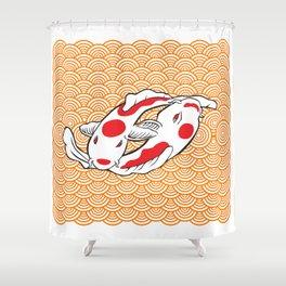 Carpas Koi Shower Curtain