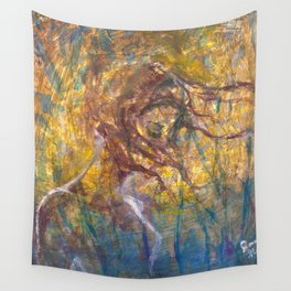 Wind Catching Heart-webs Wall Tapestry