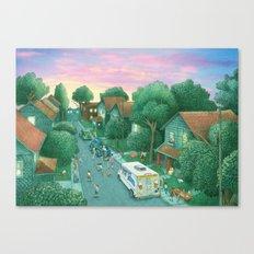 Grimloch Lane, Sunset Canvas Print