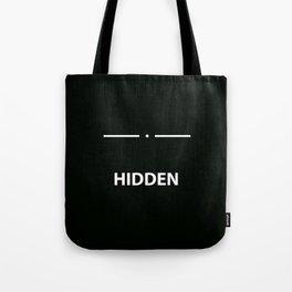 Hidden - Skyrim Tote Bag