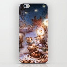 The Acorn Festival iPhone Skin