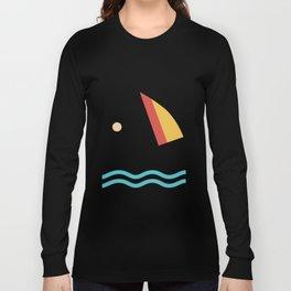 Windsurfing Cute Windsurf Design Long Sleeve T-shirt