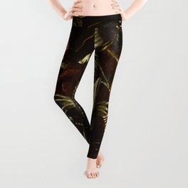 The little knight by Heironymus Bosch Leggings